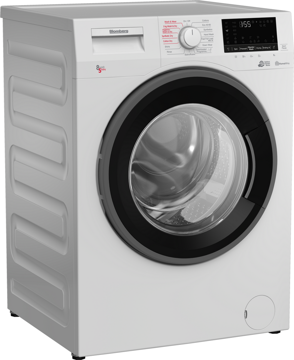 Blomberg Lrf1854310w 8kg Load Capacity Washer Dryer With 3 Year Warranty