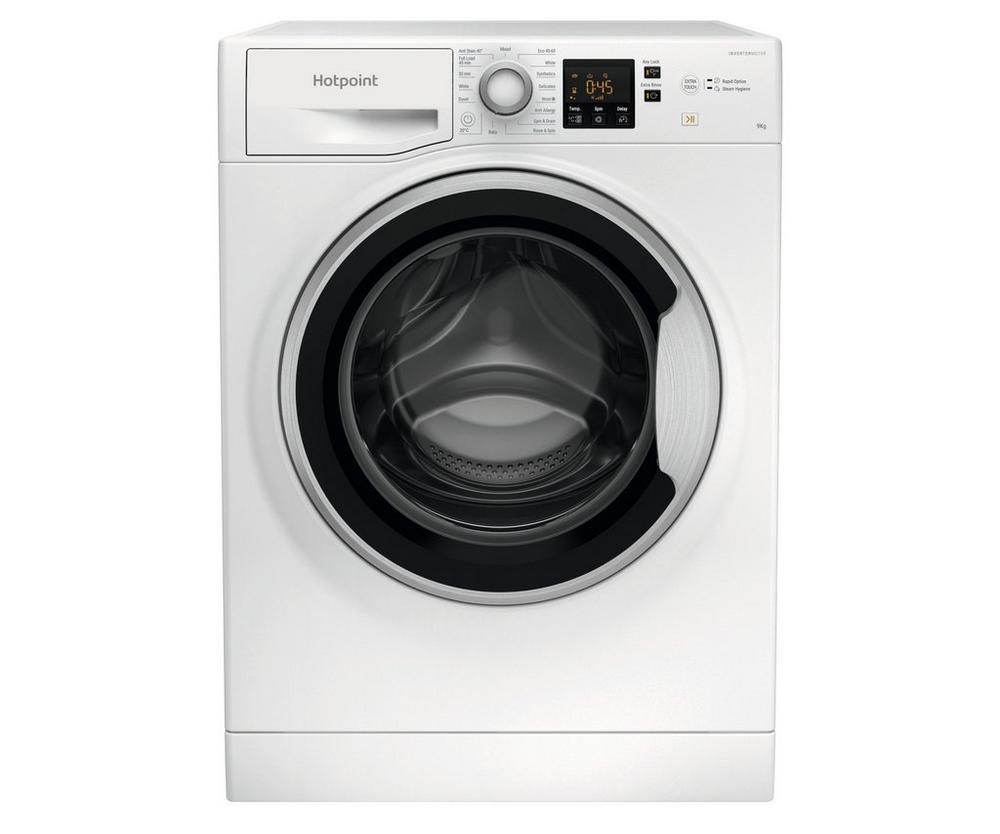 Hotpoint NSWE963CWSUKN 9kg Load, 1600 Rpm Spin Speed Washing Machine in White