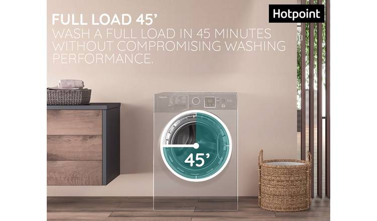Hotpoint NSWF742UWUKN 7kg Load Capacity 1400 Spin Washing Machine **FREE  DELIVERY AND INSTALLATION ON THIS MACHINE ENDS 13.2.21**
