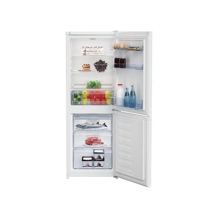 Beko Ccfm1552w 55cm Wide Frost Free Fridge Freezer With