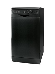 Indesit DSR15B1K 45 cm Slimline Dishwasher in BLACK