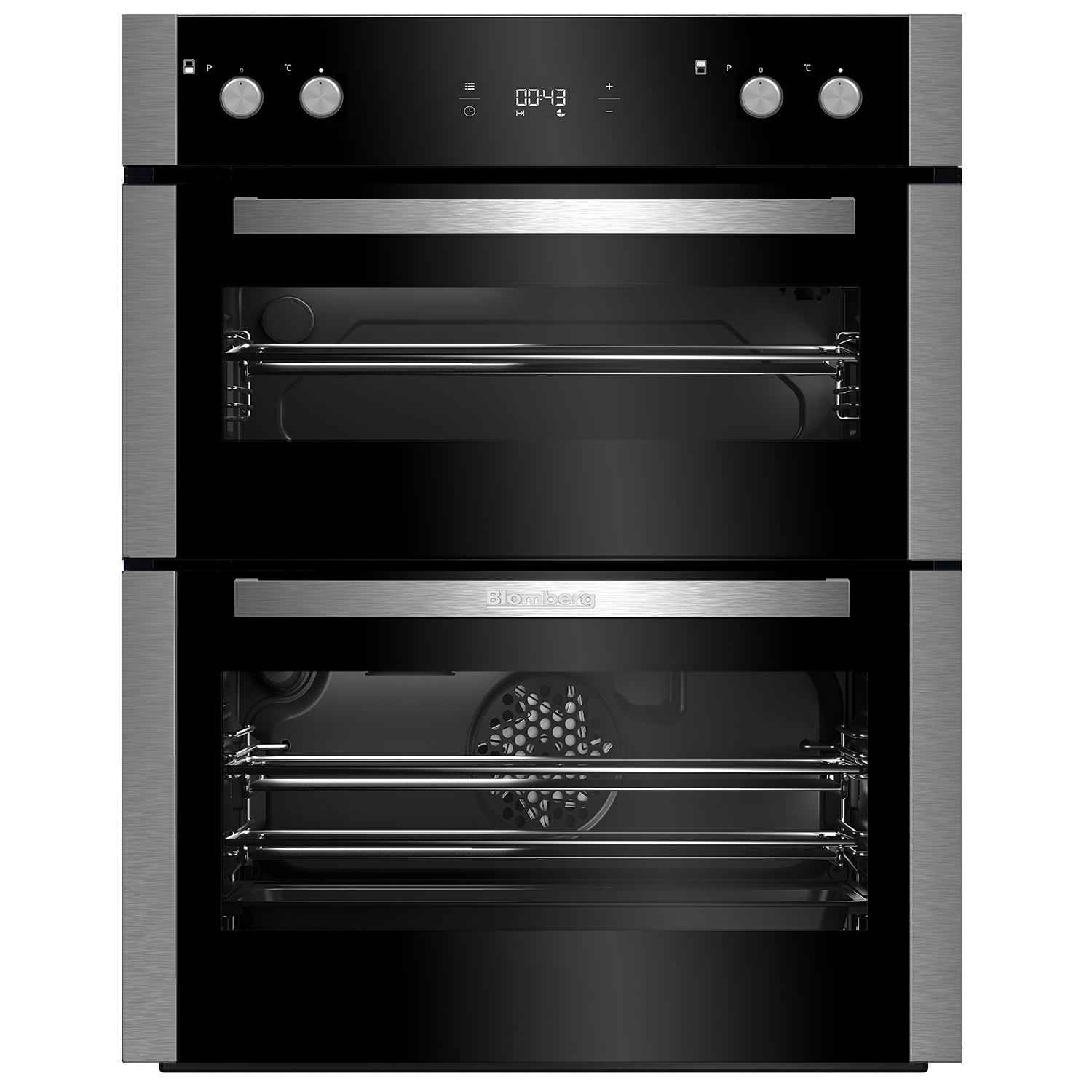 blomberg otn9302x 70 cm built under double oven with 5 year guarantee 2 only display models. Black Bedroom Furniture Sets. Home Design Ideas