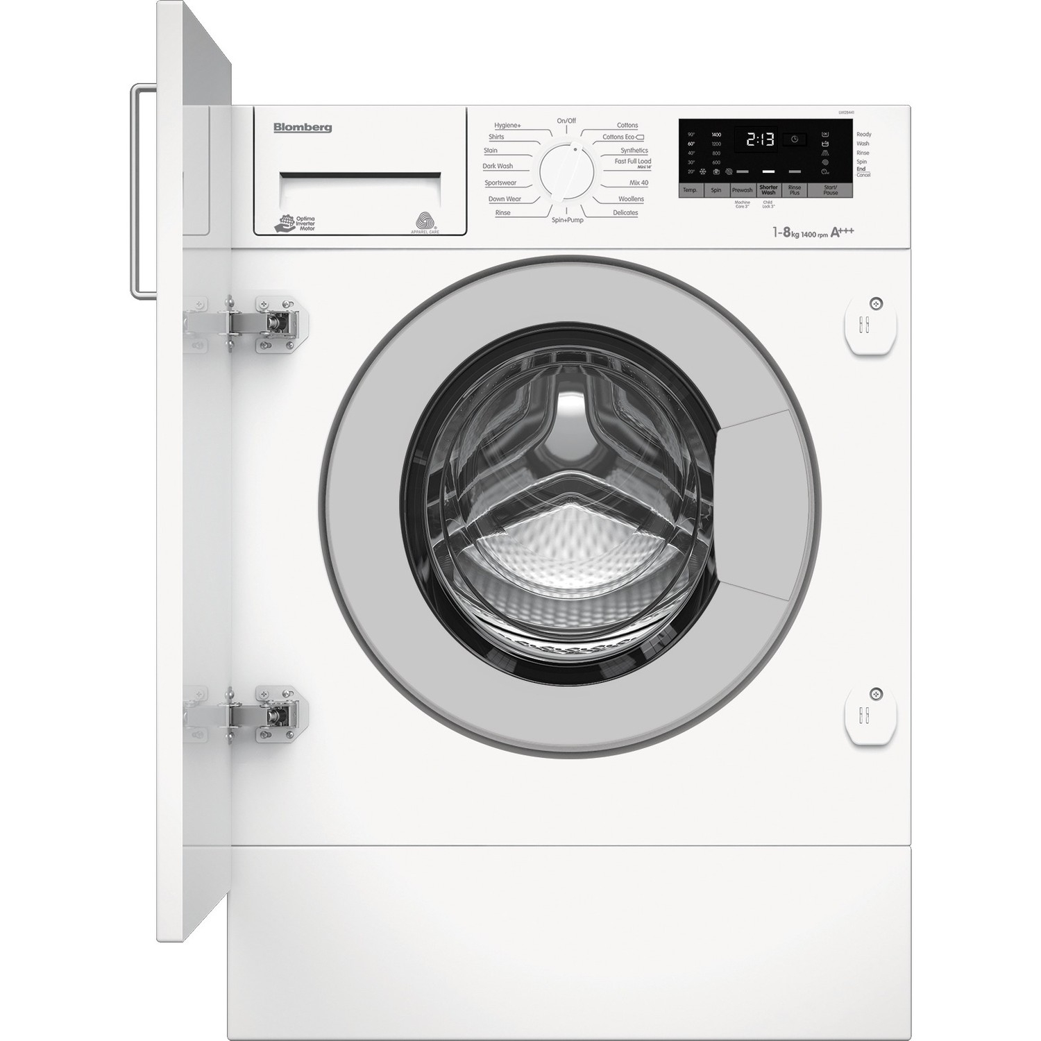 Blomberg LWI28441 8kg Load 1400 Spin Speed Integrated Washing ... 30f0b9a88b74
