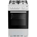 Beko ESG50W 50cm Single Oven Gas Cooker in White