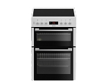 Blomberg HKN65W 60cm Wide Ceramic Topped Double Oven with 3 Year Warranty
