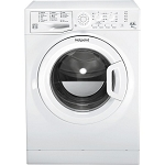 Hotpoint FDEU9640P 9kg Wash Load Capacity Washer Dryer with 6kg Dry Load