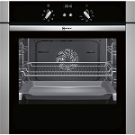 Neff B44S53N5GB Single Built in Fan Oven with Unique Side and Hide Door - Available to order