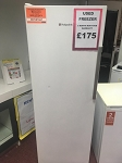 USED TALL FREEZER - 3 MONTH RETURN TO SHOP WARRANTY