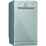 Indesit DSFE1B10S 10 Place setting Slimline Dishwasher in Silver