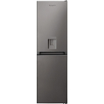 Hotpoint HBNF55181SAQU 54cm Wide Frost Free Fridge Freezer with Water Dispenser in Silver