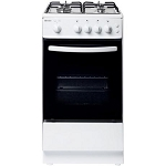 Haden HGS50W Single Cavity Gas Cooker in White