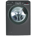 Hoover DHL1682DR3R 8kg 1600 Spin Washing Machine with Rapid 14 Minute Wash Cycle and Daily 59 minute cycle IN SILVER