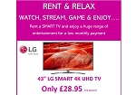 RENT THIS LG 43