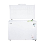 Fridgemaster MCF306 Large 302 litre Capacity Chest Freezer In White - Suitable for Garages and Outbuildings