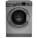 Hotpoint NSWF743UGG 7kg Load Capacity 1400 Spin Washing Machine IN GRAPHIITE