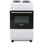 Montpellier SCE50W 50cm Electric Cooker in White