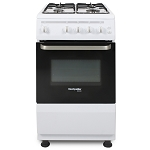 Montpellier SCG50W 50cm Wide Gas Cooker in White