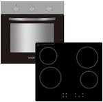 **SCOOP PURCHASE** Montpellier SFCP11 Built in Single Oven and Ceramic Hob Package with 2 Year Warranty