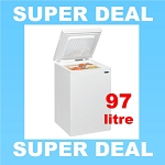 **Back In Stock** Iceking CF97W Chest Freezer in White
