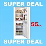 Hotpoint HBD5517W 55cm Wide Fridge Freezer in White