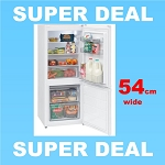 Montpellier MS136W 54 cm wide  Freestanding Fridge Freezer