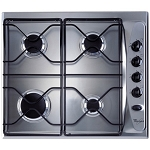 WHIRLPOOL AKL710IX IGNIS 4 BURNER GAS HOB IN STAINLESS STEEL - ONE ONLY