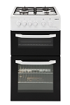 Beko BDG581NW 50cm Twin Cavity Gas Cooker in White **SPECIAL OFFER - HALF PRICE STANDARD DELIVERY/INSTALL/DISPOSAL ON THIS ITEM**