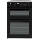 BEKO BDVC663K BLACK 60CM CERAMIC ELECTRIC COOKER  - ONE ONLY  *** HALF PRICE STANDARD INSTALLATION on this COOKER offer ends 08.04.17***