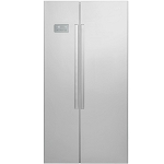 Beko ASL141X American Style Stainless Steel Effect Frost Free Fridge Freezer with 2 Year Beko Guarantee