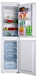 Iceking BI501 50/50 Split Integrated Fridge Freezer with 2 Year Warranty