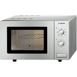 Bosch Microwave HMT72G450B With Grill-Brushed Steel.