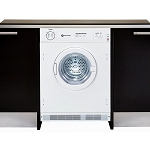 WHITE KNIGHT C4317 INTEGRATED VENTED TUMBLE DRYER