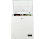 Lec CF150LW 142 Litre Chest Freezer in White - SUITABLE FOR GARAGES AND OUTBUILDINGS