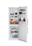 Beko CFP1675W 60 cm Frost Free Fridge Freezer - SUITABLE FOR GARAGES AND OUTBUILDINGS. 1 ONLY DISPLAY MODEL AT THIS PRICE.