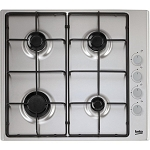 Beko CIHG21SX  60cm Gas Hob in Stainless Steel **  2 ONLY DISPLAY MODELS TO CLEAR**