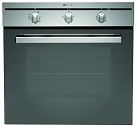 Indesit Built in Stainless Fan Oven CIMS51KAIX & Ceramic Hob VRM640MC Package