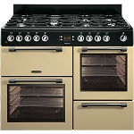Leisure Cookmaster CK110f232 110cm Dual Fuel Range Cooker available in Black or Cream (Good Housekeeping Institute approved model 2016)