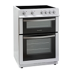 Montpellier MDC600FW 60cm Wide Ceramic Topped Electric Cooker with Double Oven **1 only display model available at this time-please call to order**