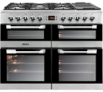 Leisure Cusinemaster CS110F722 110cm Dual Fuel Range Cooker available in Black or Stainless Steel (Good Housekeeping Institute approved model 2016)