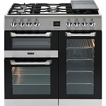 Leisure Cuisinemaster CS90F530X 90cm Dual Fuel Range Cooker in Stainless Steel or Black