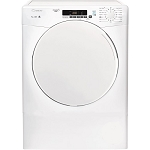 Candy CSV9DF 9kg Load Capacity Vented Tumble Dryer with  Sensordry features. 2 ONLY AT THIS PRICE.