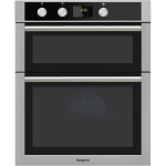 Hotpoint DD4544JIX Built in Double Oven in Stainless Steel.