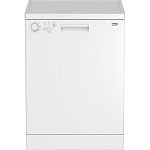 Beko DFN04C11 60cm Wide Full Size Dishwasher with 30 Minute Quick Wash