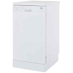 Beko DFS04C10W Slimline Dishwasher - Ideal for smaller spaces