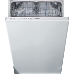 Indesit DSIE2B10 10 Place Setting Slimline Fully Integrated Dishwasher