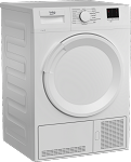 Beko DTLCE80041W 8kg Condenser Tumble Dryer in White with Sensordry