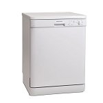 Montpellier DW1254P White Full Size Dishwasher with 2 Year Warranty