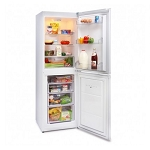 Iceking FF5040W 153cm Tall A+ Energy Rating Frost Free Fridge Freezer in White.
