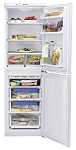 Hotpoint FFAA52P 55cm Wide Frost Free Fridge Freezer with 4 Freezer Drawers.