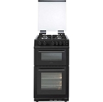 Belling FS50GDOL 50cm wide Double Oven Gas Cooker in Black (also available in white to order)